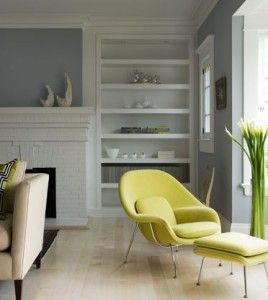Nice modern spin on a traditionally built house. Just shows you can make any house modern with the right furniture.