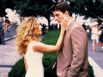 """""""Your girl is lovely, Hubbell."""" One of my all time fave scenes of SATC..."""