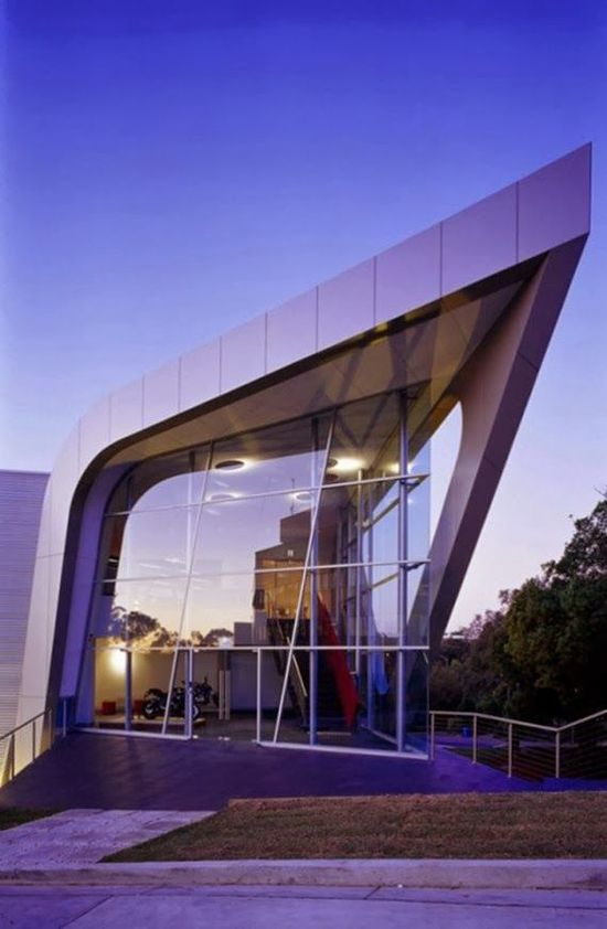 The Infinite Gallery : Great Architecture Idea of Harley Davidson Office Design