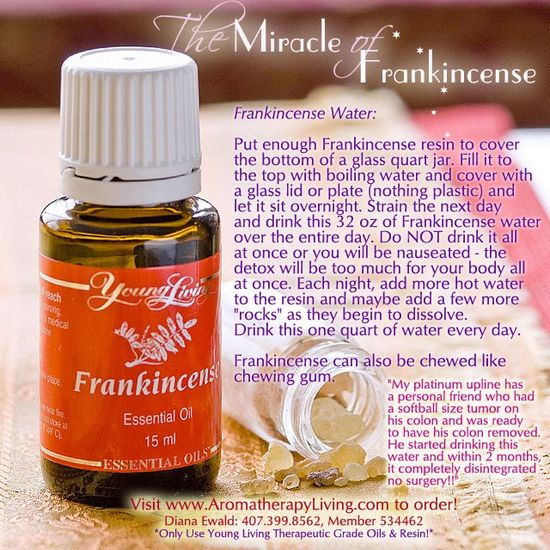 Young Living Frankincense Essential Oil Miracle