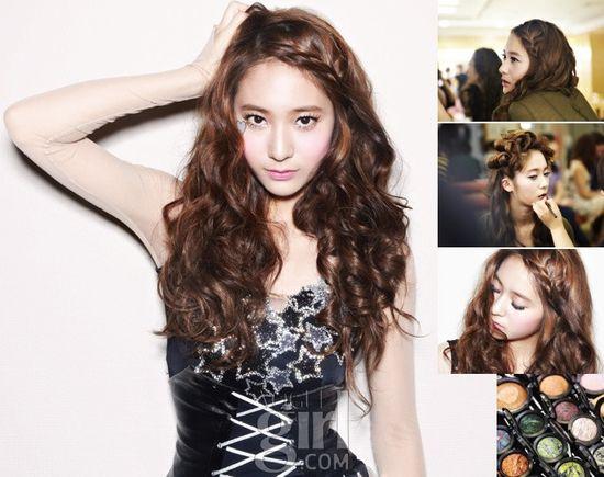 Crystal's braided hair style    #braid #crystal #fx
