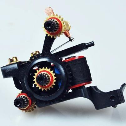 Hot Sale Promotional custom Luo's Machine handmade Tattoo Machine Gun Liner Set