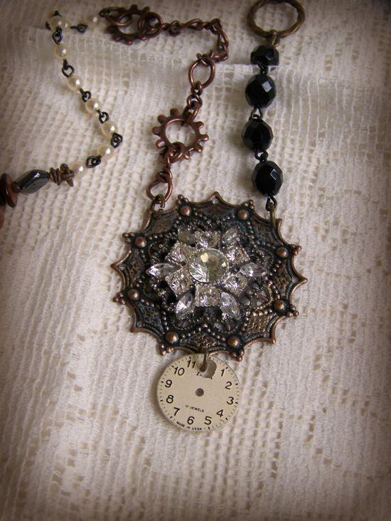 Vintage Style Gypsy  Necklace