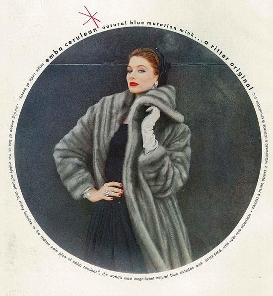 Ravishing! #vintage #1950s #fashion #ad