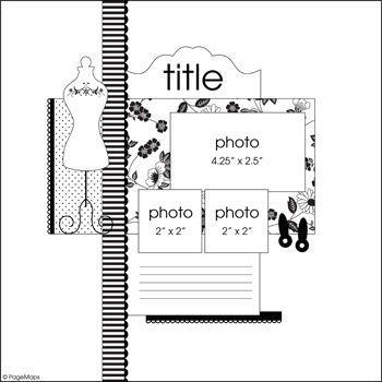 Page Maps 33 - Sketch 3 - Scrapbook.com