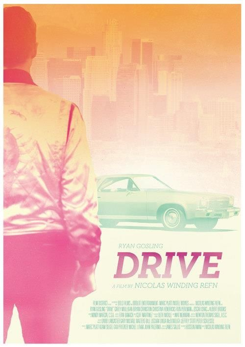 "Erik This poster demonstrates the ideas of simplicity and colour choice can help with the creation of a poster design. The title ""drive"" is supported with the person and the car. We are able to see how the colour choice creates the mood and atmosphere to support the central theme of the poster. The positioning and size of the elements creates the idea of balance."