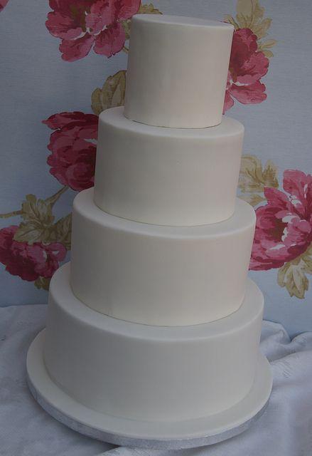 Blank canvas cake