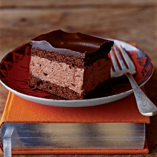 Chocolate Cream Squares // More Decadent Chocolate Desserts: www.foodandwine.c... #foodandwine