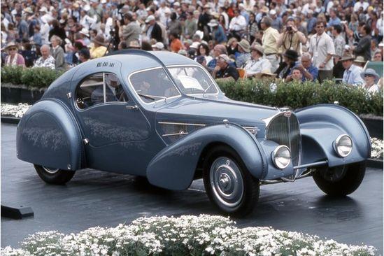 World Most Expensive Car Bugatti 57C Atlantic