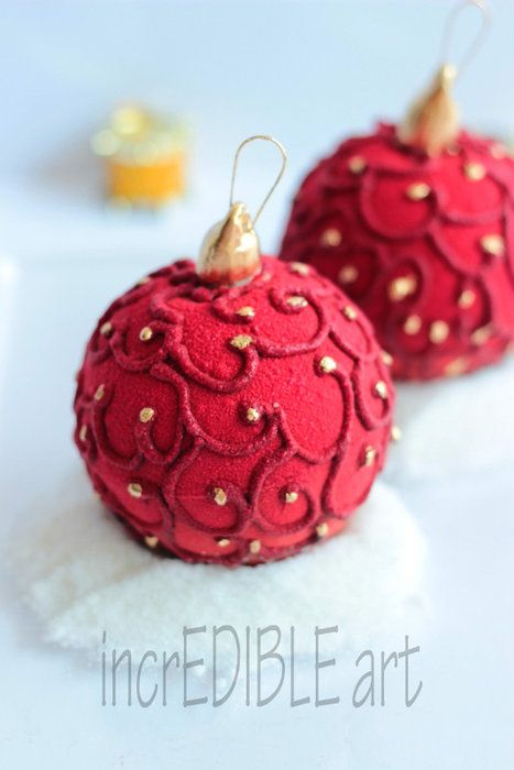 Gleaming light-The Dessert Bauble - by Rumana Jaseel @ CakesDecor.com - cake decorating website