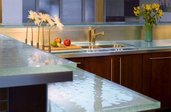 countertop kitchen design picture