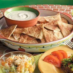 Cinnamon Chips 'n' Dip Recipe