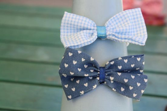 Handmade Bow Hairties  Pack of Two Girls by ChelseaCollections, $6.00