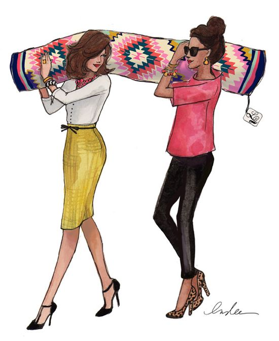 fashionable like the one on  the right :)