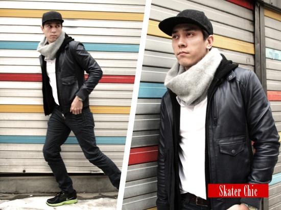 Skater Chic. Korean fashion inspiration www.districtgal.com @BCBG MAX AZRIA