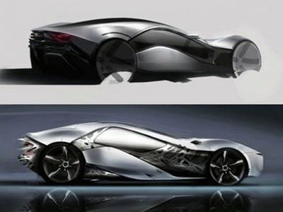 """Bertone Pandion Concept 2010 Alfa Romeo Sports Cars Concept ""  UNF"