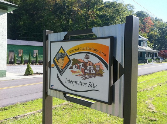 Follow the Coal Heritage trail through Southern West Virginia.