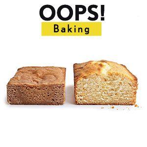 36 Common Baking Mistakes
