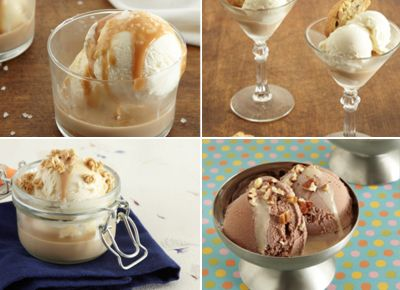 Ice Cream Creations with Baileys Irish Cream.