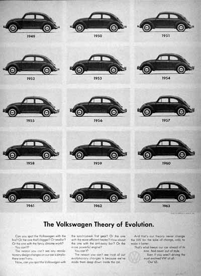 Classic Volkswagon Ad. #classic ads #vintage ads