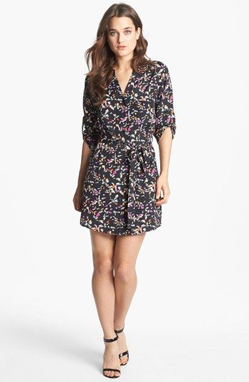 Collective Concepts Roll Sleeve Shirtdress