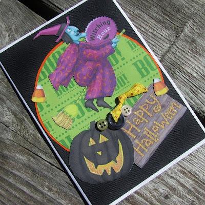 Handmade Halloween Cards ~ Sincerely, Paula/PaperCrushCrafts