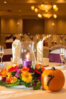 Beautiful #Fall #wedding tablescape
