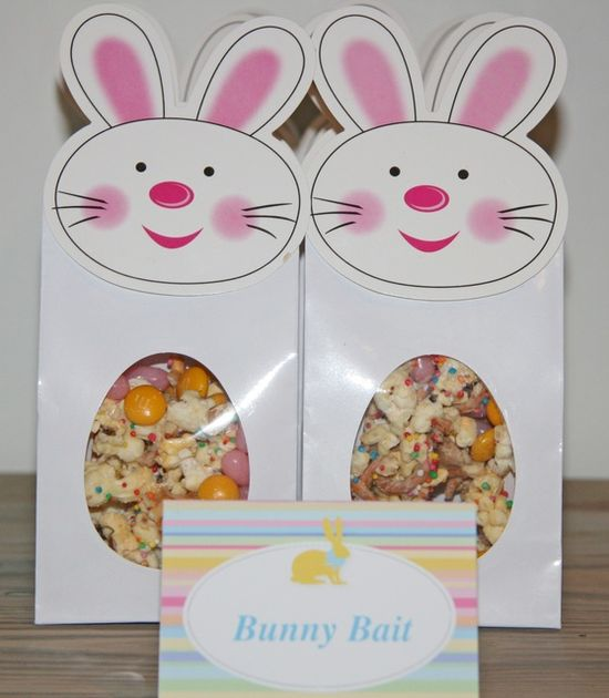 Party favors at an Easter Party #easter #partyfavors
