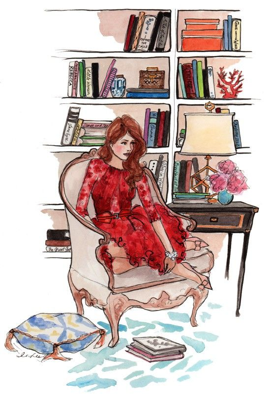 {A Gorgeous Illustration by Inslee Haynes}