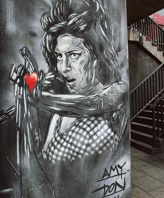 Amy Winehouse By Don.      #StreetArt #Graffiti