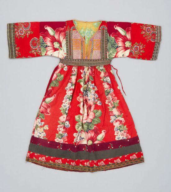 traditional dresses from the Pashtun region of Afghanistan, dated between 1930-1970