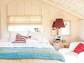 Attic loft bedroom.  #loft #attic #bedroom