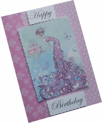 Handmade Birthday Card  Picture