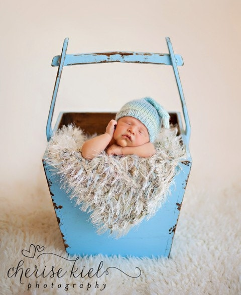 Newborn Boy Photo Prop Blanket Baby Rug 'Linens' in by BabyBirdz, $65.00
