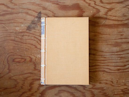yellow handmade journal // hard bound journal by ericmbaral, $23.00