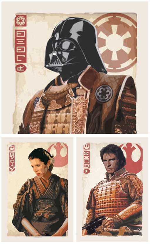 Samurai Star Wars. Legit.