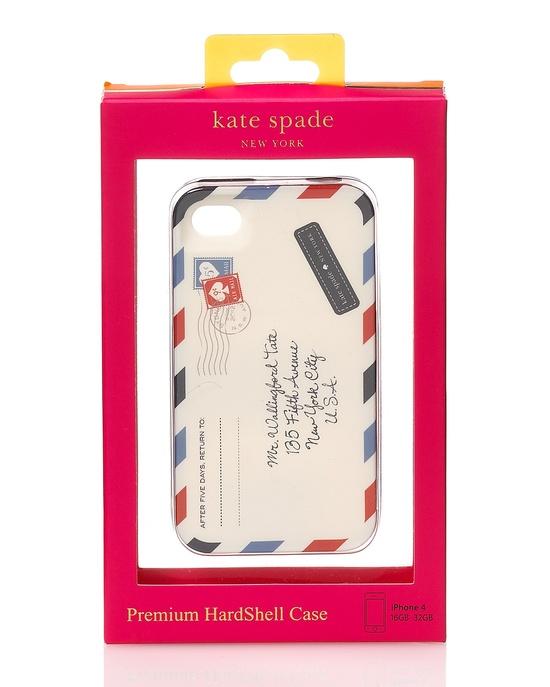kate spade iphone case - airmail design