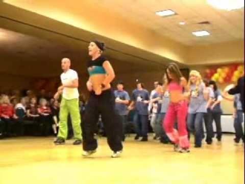 Zumba workout (10 min video).