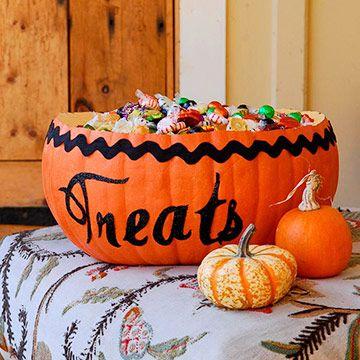 treat pumpkin