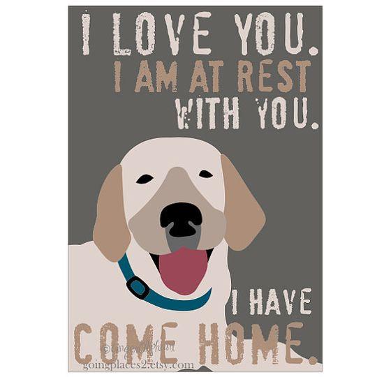 Looks like my Dexter!    Labrador Retriever Rescue Art Print $21.00