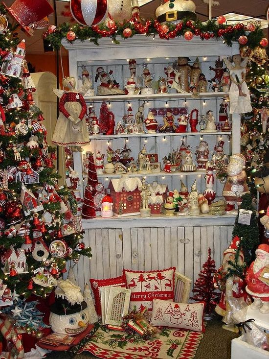 Traditional Red Christmas Decorations