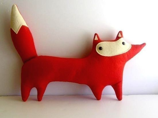 the boy and i totally just bought this as a throw pillow for the bed.  who says grown-ups can't have stuffed animals?
