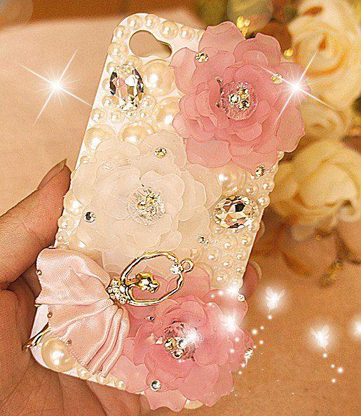 Glam Ballerina iPhone 4/4s case iphone 5 cases iphone hard case iphone cover case handmade. $18.65, via Etsy.