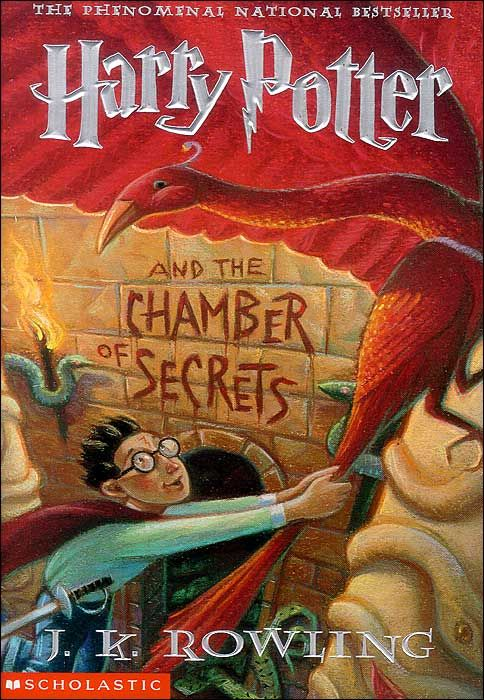 Harry Potter and the Chamber of Secrets - J.K. Rowling @Hollie Baker a l e y Bainter should be taking time this weekend to read this!!