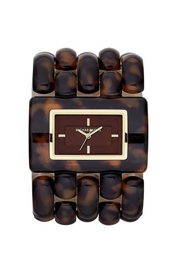Michael Kors 'Rio' Wide Bracelet Watch