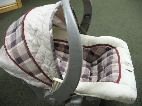 Custom Car Seat Cover DIY