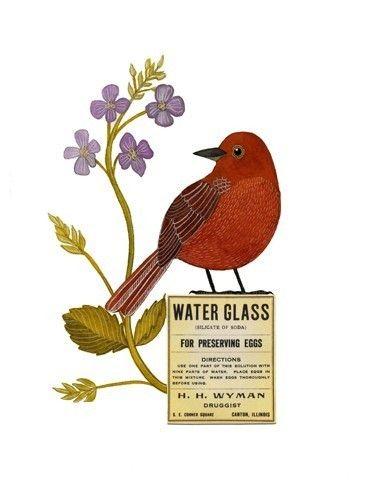Bird No12 by Geninne on Etsy, $30.00