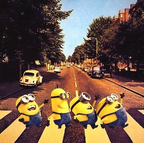 Minions - Beatles - Abbey Road