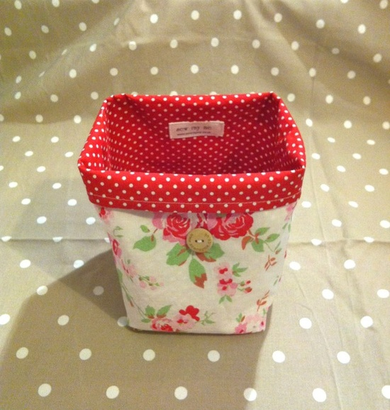 Small Craft Bag - perfect for crafting on the go.  #crochet #handmade