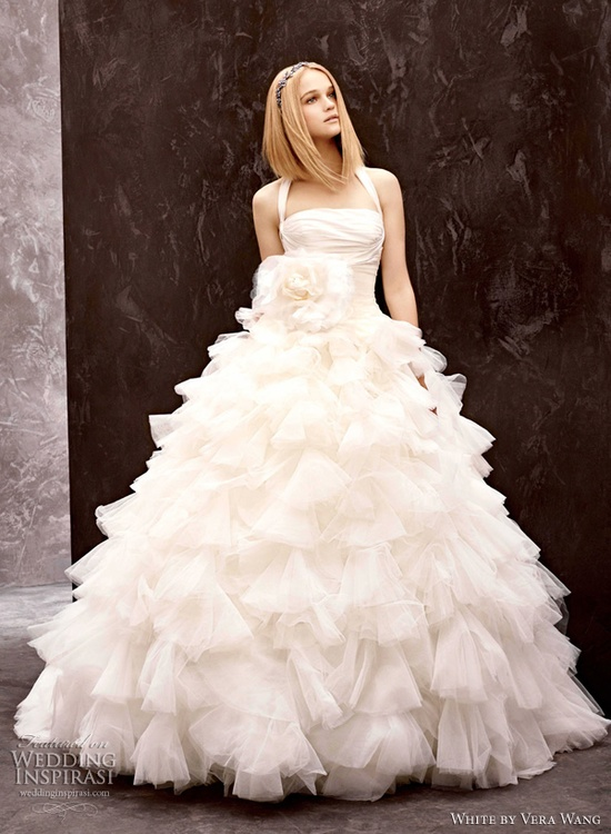 Wedding Dress - White by Vera Wang Fall 2012